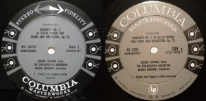 Columbia Masterworks MS6079 & ML5399 Labels