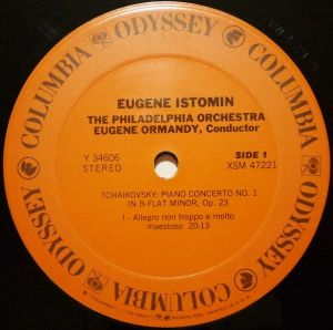 Columbia - Odyssey Y 34606 Label