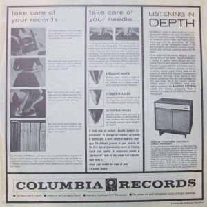 Inner Sleeve of Columbia Records