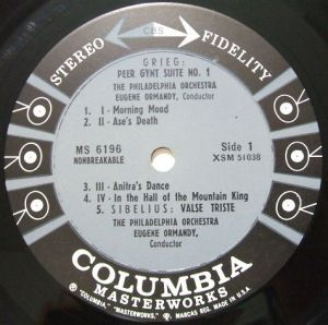 Columbia Masterworks MS6196 6eyes Label