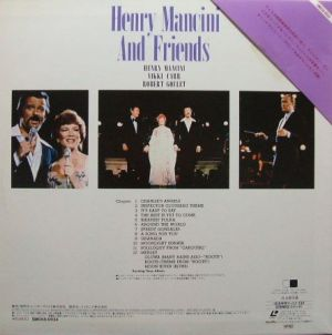 Pioneer/Laserdisc Corporation SM058-0034 Henry Mancini And Friends
