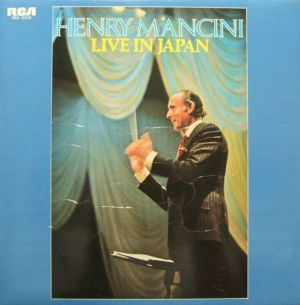 日本ビクター/RCA SRA-5220 Henry Mancini Live in Japan Jacket 表