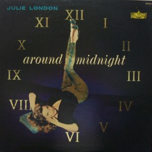 King Records/United Artists/Liberty  GP813,  Julie London - around midnight jacket
