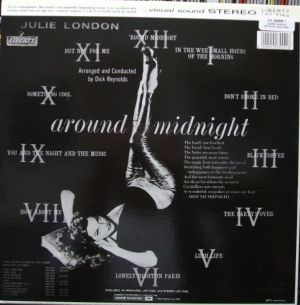EMI/Pathé Marconi/Liberty - 1565551, Julie London - around midnight Jacket Liner