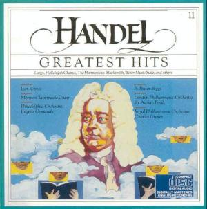 CBS Masterworks MLK39441 Handel's Greatests Hits CD