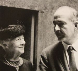 Samuel Barber with Mary Louise Curtis Bok Zimbalist in Philadelphia , 1960
