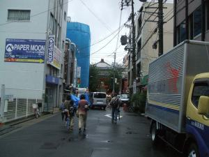 大須商店街 ふれあい広場(招き猫)へ一路・・・