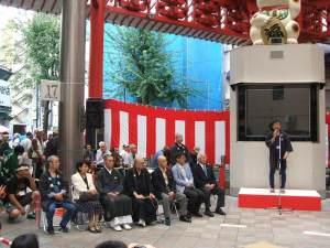 第34回大須大道芸町人祭 ご来賓・・・お坊さんまでござるよ・・・