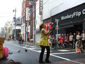 ミス・サリバン at 第34回大須大道芸町人祭