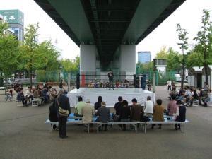 名古屋高速高架下で東海プロレスを観る・・・