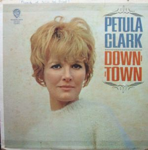 Petula Clark - Down Town Warner Bros. 1590 Jacket