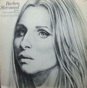 Barbra Streisand Live Concert 1974 Columbia 31760 Jacket