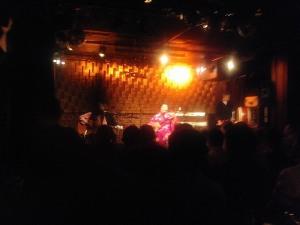 2011年11月6日(日)大城節子「祈りの島唄」ライブ 今池TOKUZOにて