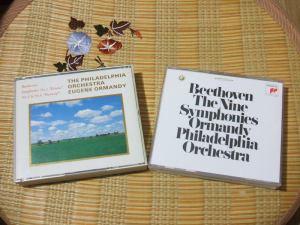 1985年頃発売の国内盤(3番、5番、6番)と今回のベートーヴェン交響曲全集CD