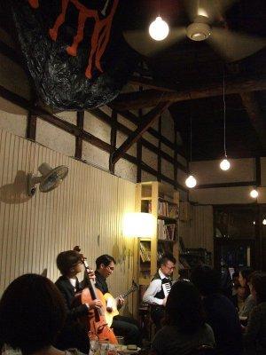 ザッハトルテ お食事ライブ中 at CafeDufi Nov.26,2011