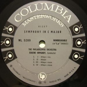 Columbia Masterworks ML5289 6eyes Label
