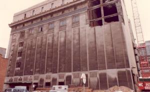 Scottish Rite Temple Philadelphia During demolition in 1983年