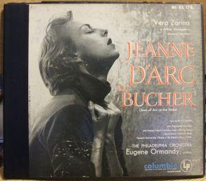 Columbia Masterworks SL178 Jonegger Jeanne D'arc au Bucher - Jacket