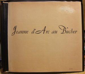 Columbia Masterworks SL178 Jonegger Jeanne D'arc au Bucher - inner1