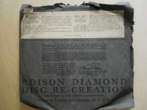 Edison Diamond Disc Sleeve No.82145