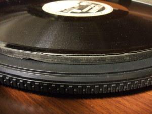 delamination of EDISON Diamond Disc