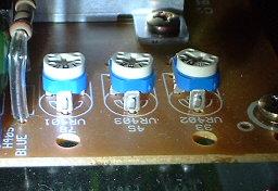 音聴箱 GP-17 スピード調整用半固定抵抗