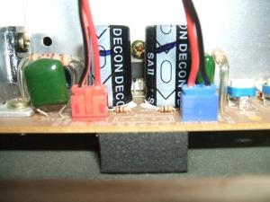 音聴箱 GP-17 スピーカーコネクタ配線