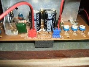 音聴箱 GP-17 スピーカーコネクタ改造終了