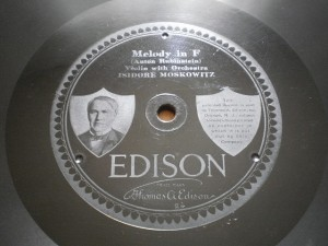 Edison Diamond Disc No.80181Label