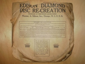 Edison Diamond Disc No.80426 Sleeve