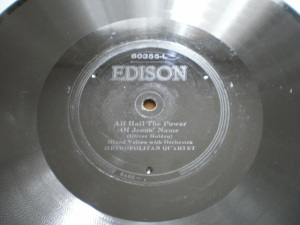 Edison Diamond Disc No.80355-L Label