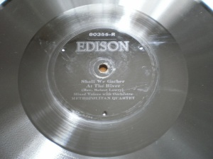 Edison Diamond Disc No.80355-R Label
