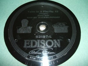 Edison Diamond Disc No.82197-L Label