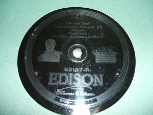 Edison Diamond Disc No.82197-R Label