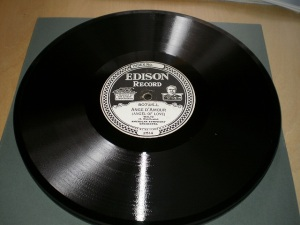 Edison Diamond Disc No.80745-L Label