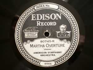 Edison Diamond Disc No.80745-R Label
