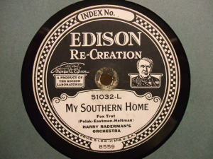 Edison Diamond Disc No.51032-L Label