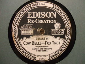 Edison Diamond Disc No.51032-R Label
