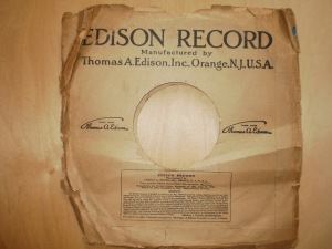 Edison Diamond Disc No.80193 Sleeve