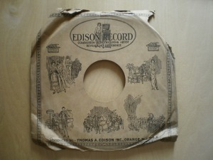 Edison Diamond Disc Sleeve