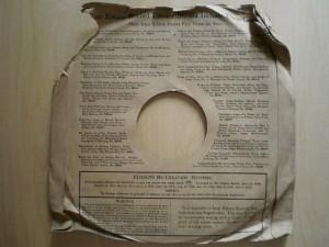 Edison Diamond Disc Sleeve