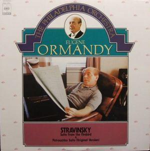 CBSソニー 「オーマンディ名曲ベスト30」 15AC1714 「火の鳥」「ペトルーシュカ」 ジャケット