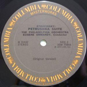 Columbia Masterworks - The Fabulous Philadelphia Sound Series M31632 Gray Label