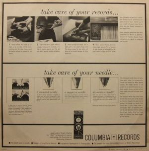 Columbia Masterworks ML5117 inner sleeve