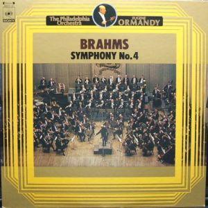 CBS SONY SOCT 19 オーマンディ音の饗宴1300 ブラームス交響曲4番 jacket表