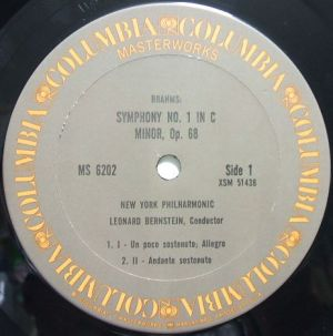 Columbia Masterworks MS6202 Gray Label