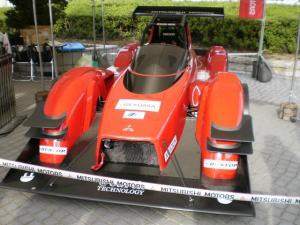 2015年11月1日 新城ラリー2015 電気自動車の展示