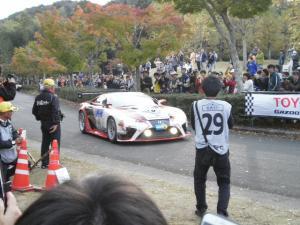 2015年11月1日 新城ラリー2015 レース参加車