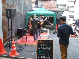 ShuDaB Live @円頓寺本町商店街 クラフトマルシェ in 円頓寺