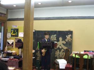 円頓寺商店街 秋のパリ祭2015 Live @きもの工藝 ヲジマヤ